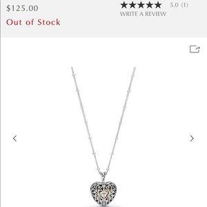 Pandora love gate locket necklace